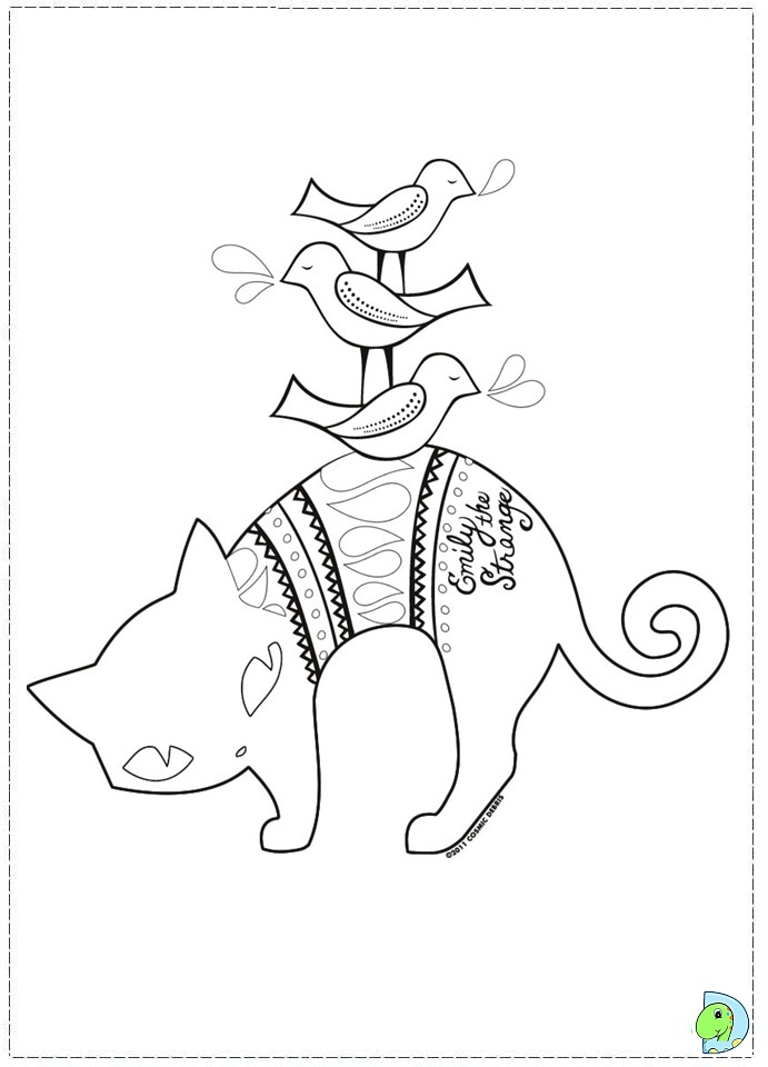 emily train coloring pages - photo#16
