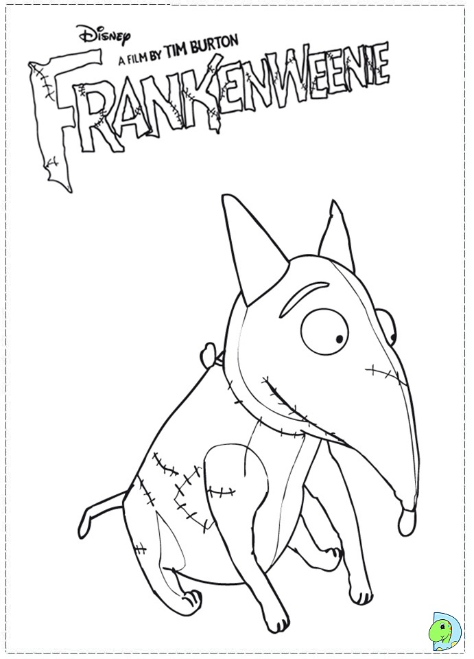 Tim burton coloring pages coloring pages for Tim burton coloring pages