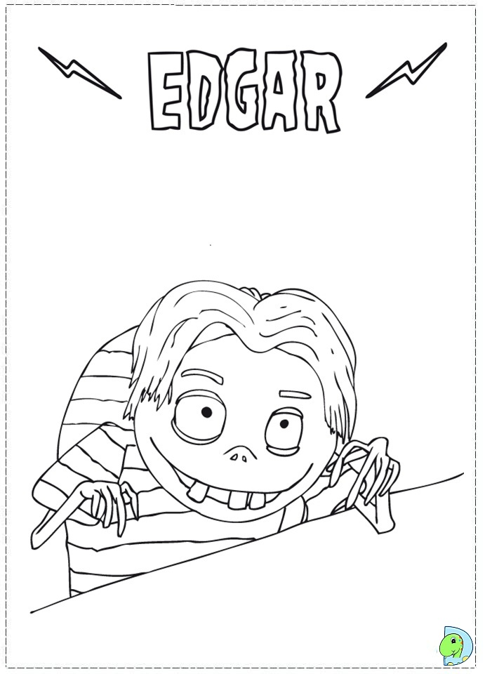 Frankenweenie coloring pages to print