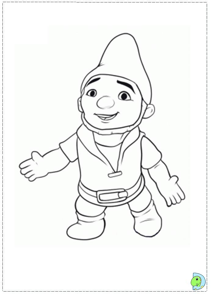 Gnomeo And Juliet Coloring Page Dinokids Org Gnomeo And Juliet Coloring Pages