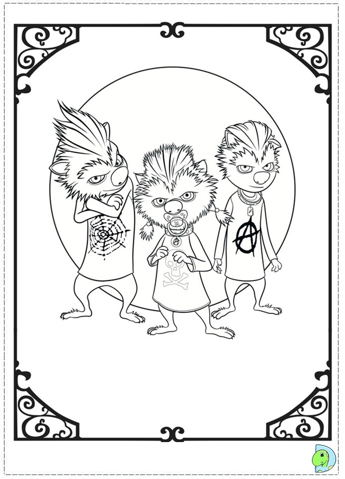 coloring pages of hotel - photo#25