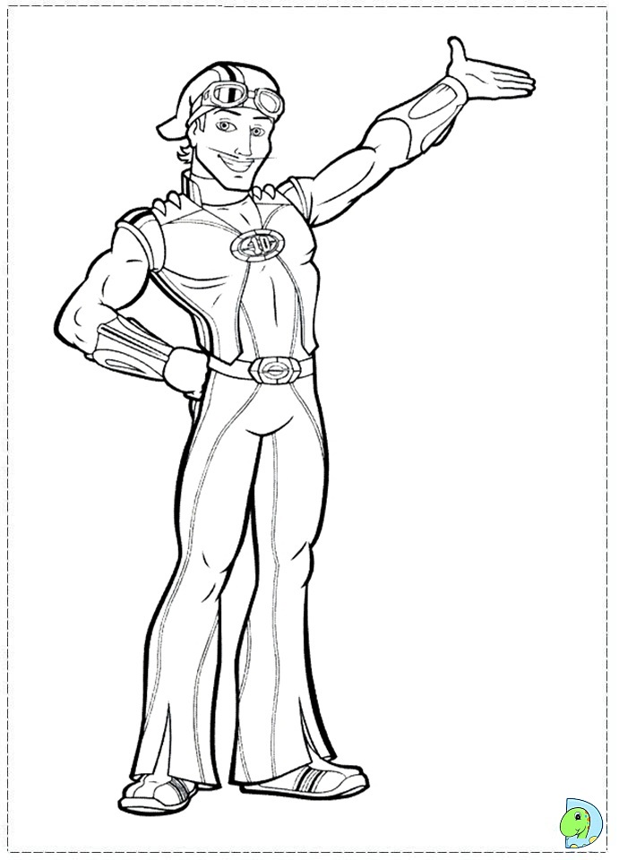 sprout character coloring pages - photo#38