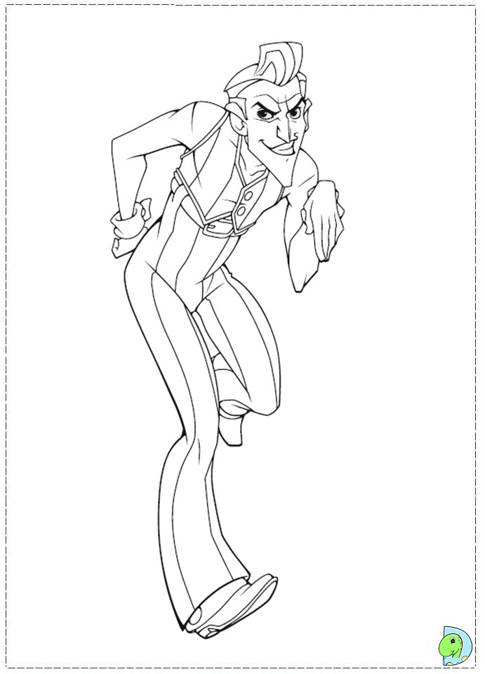 lazy town coloring pages - photo#32