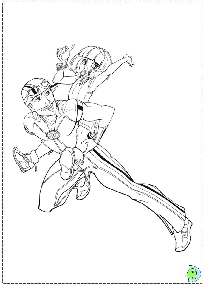 lazy town coloring pages - photo#35