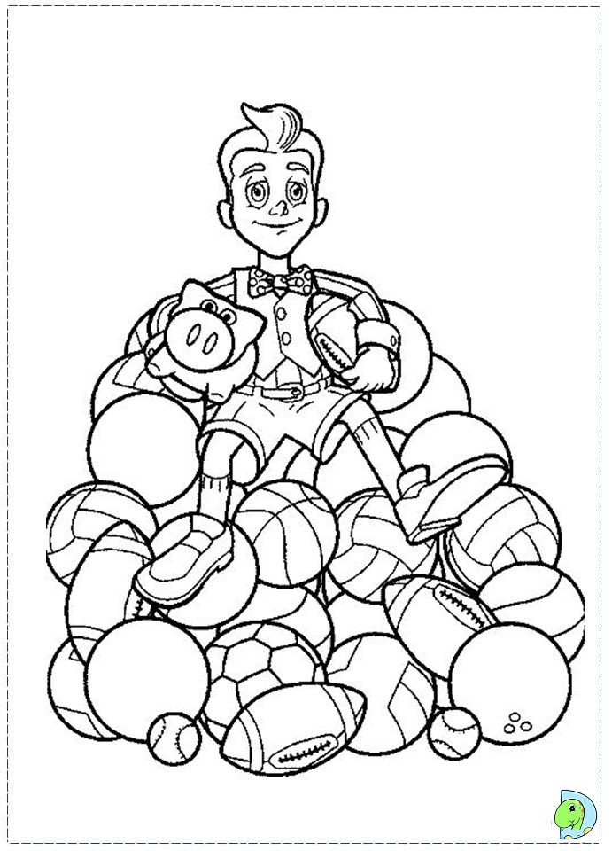 lazy town coloring pages - photo#36