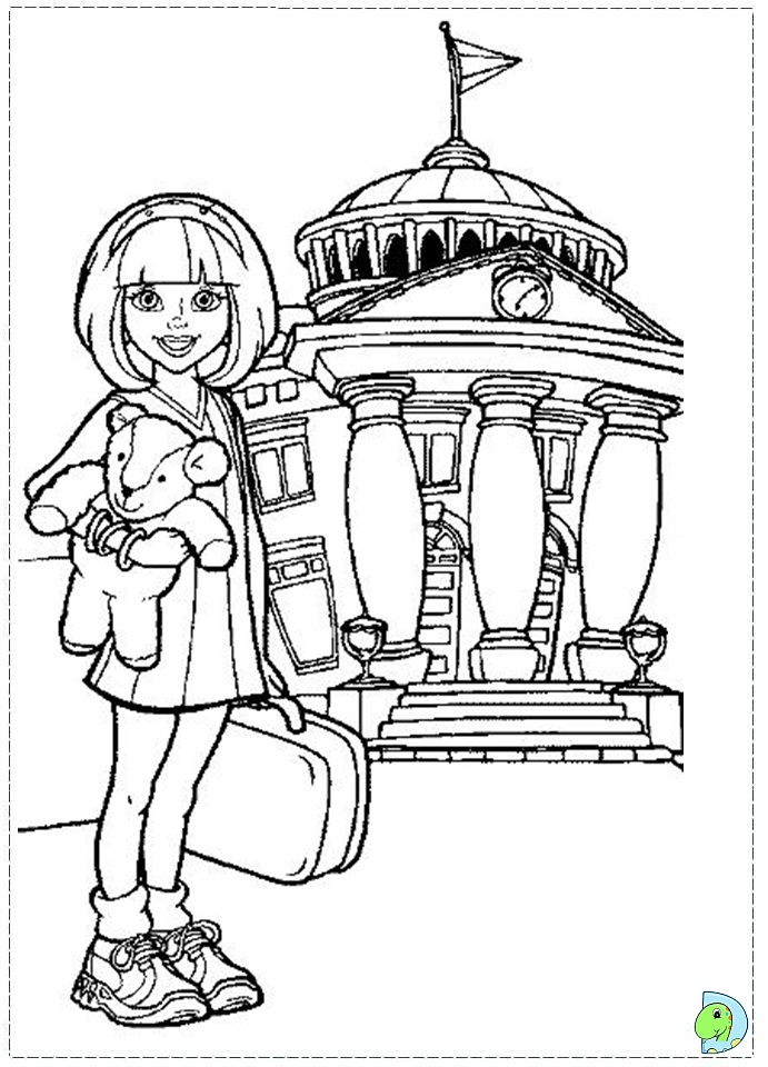 Free Coloring Pages Of Lazytown Town Coloring Pages