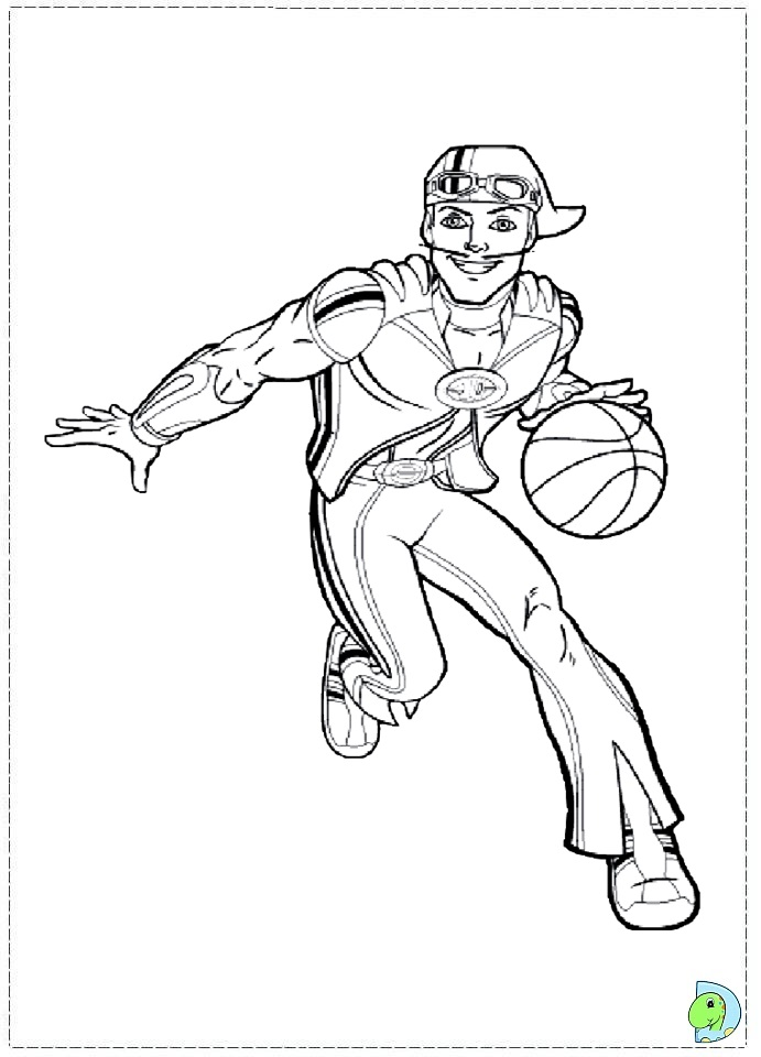 Starkiller coloring pages coloring pages for Lazy town coloring pages