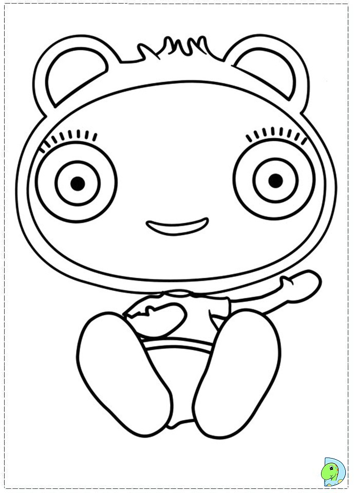 Free Coloring Pages Of Mr Maker Shapes Mister Maker Colouring Pages