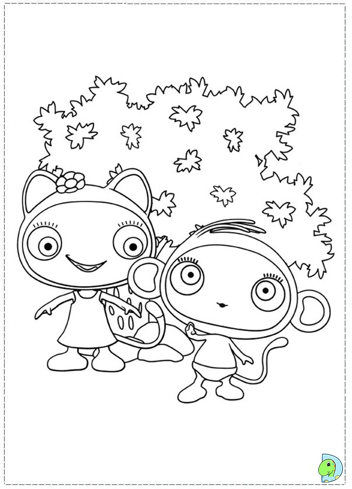 beegu coloring book pages - photo#11