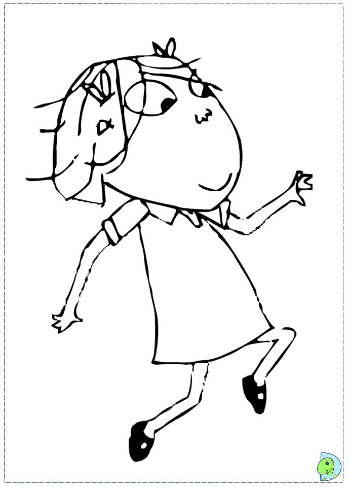 Charlie and Lola Coloring page