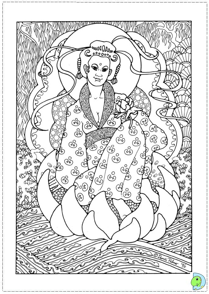 china dolls coloring pages - photo#27