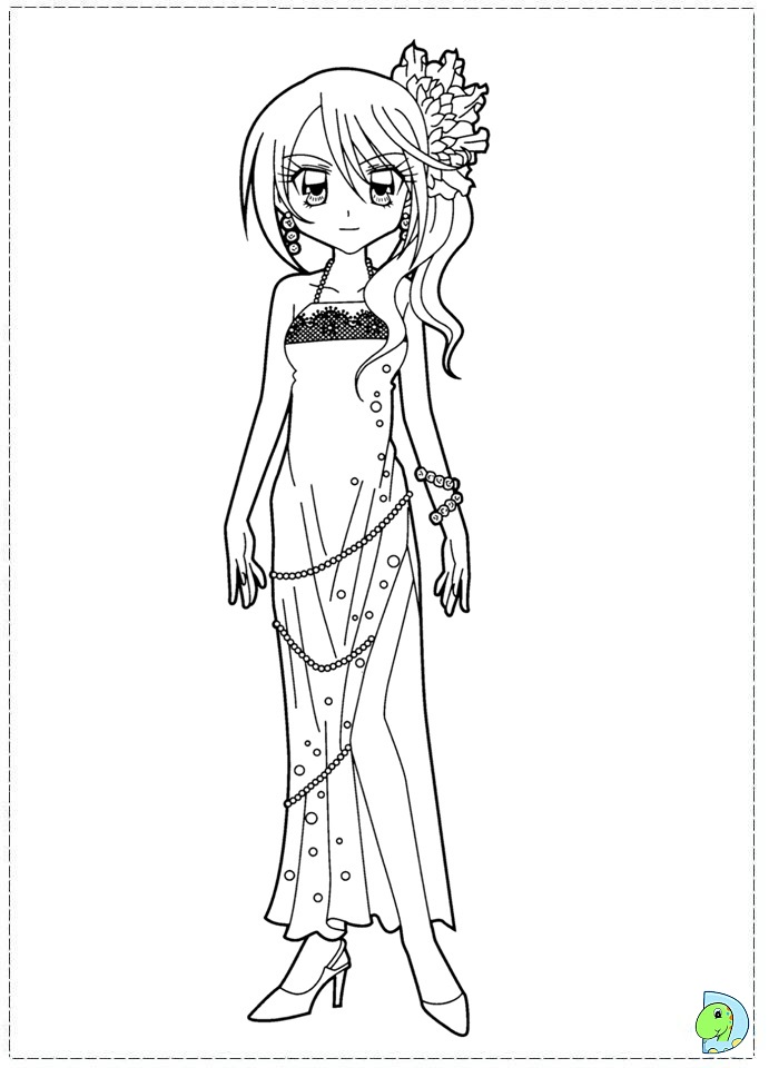 dinokids manga coloring pages - photo#34