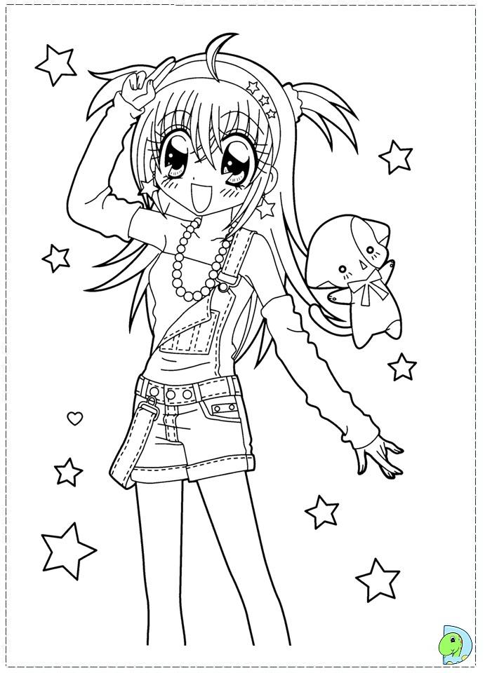 dinokids manga coloring pages - photo#10