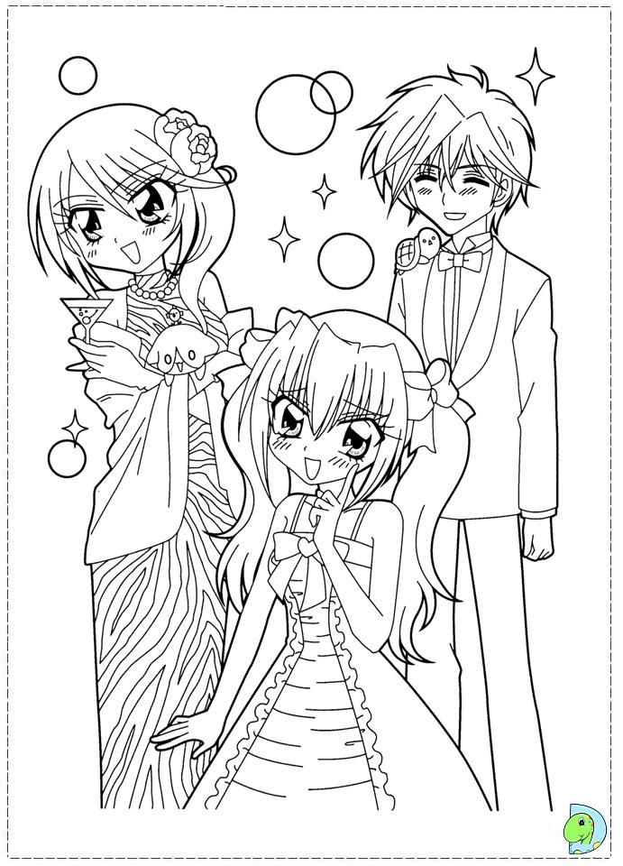dinokids manga coloring pages - photo#27