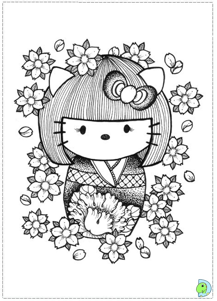 kokeshi dolls coloring pages - chucky coloring pages printable coloring pages