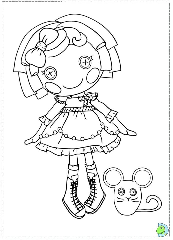 lalaloopsy coloring pages baby girl - photo#32