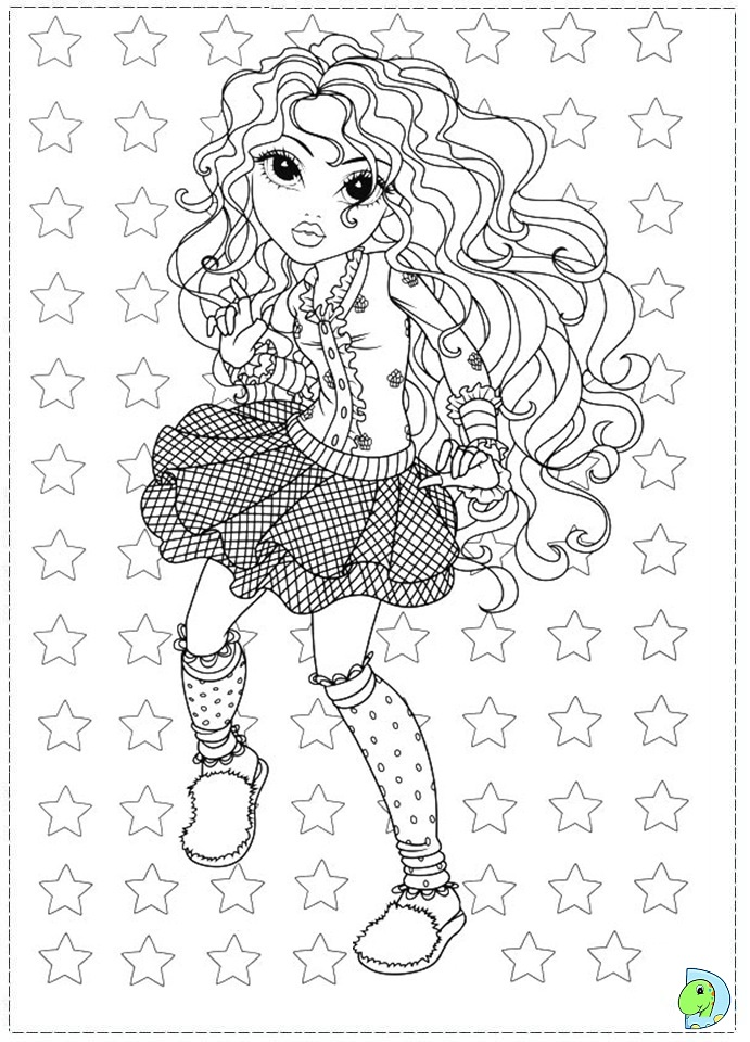 moxie dolls coloring pages - photo#13