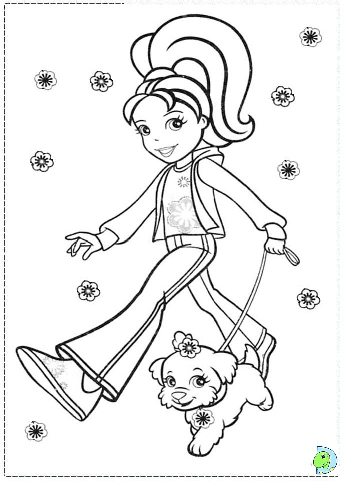 polly pocket coloring pages - polly pocket printable coloring pages