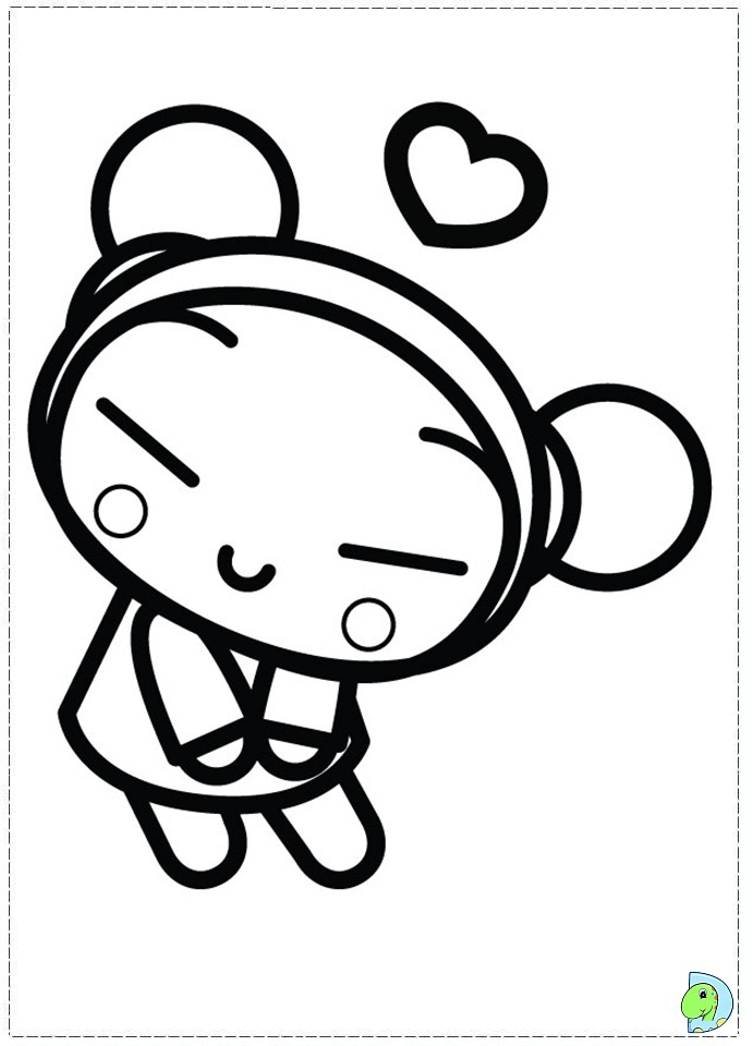 coloring pages of pucca - photo#9