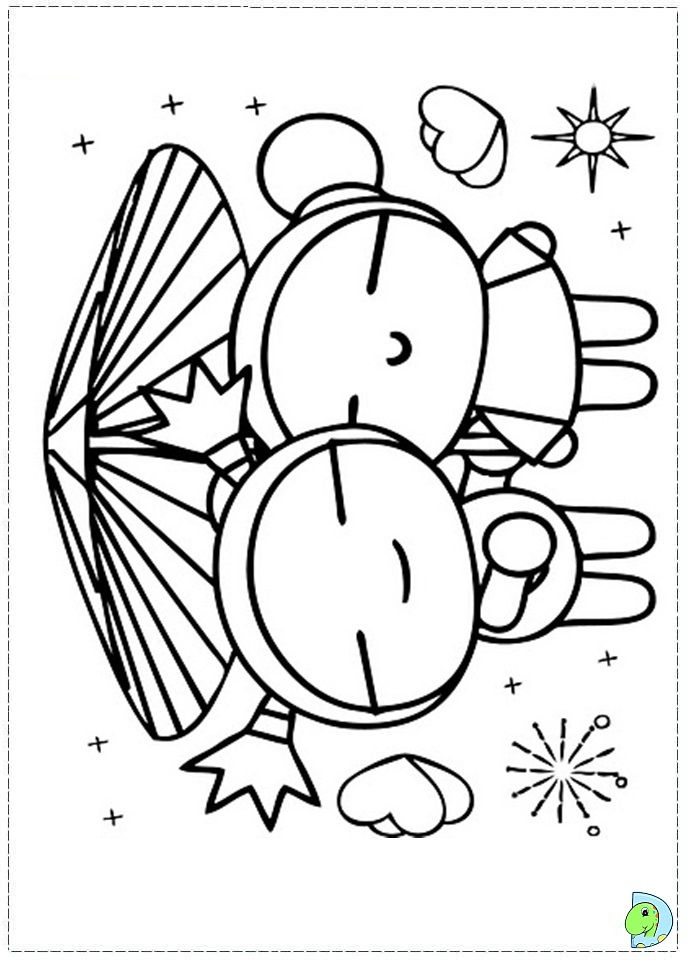 pucca coloring pages - photo#27