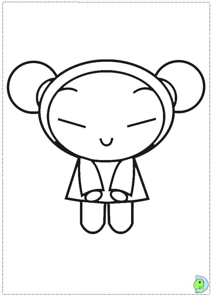 coloring pages of pucca - photo#21