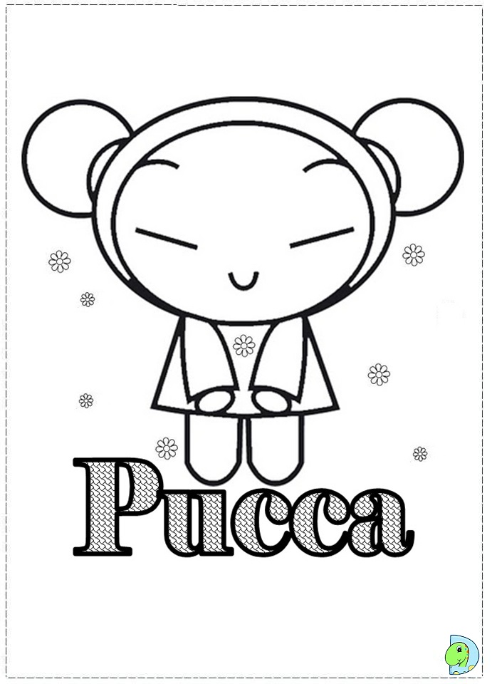coloring pages of pucca - photo#32