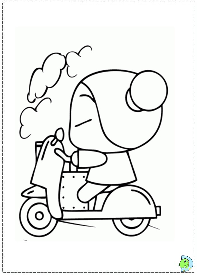 Pucca Coloring Pages