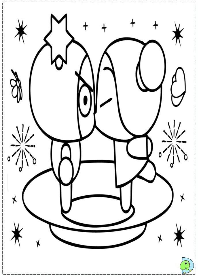 coloring pages of pucca - photo#24
