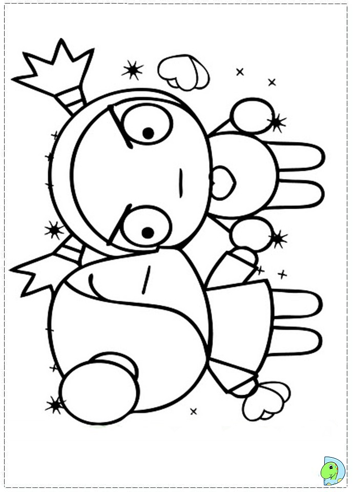 pucca coloring pages - photo#19