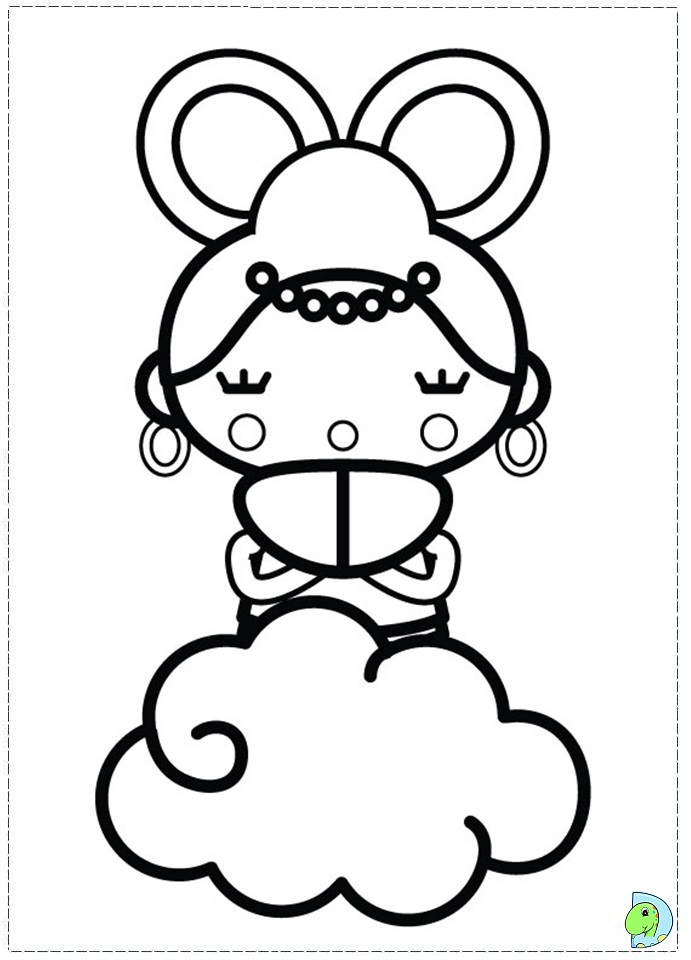 pucca coloring pages - photo#17