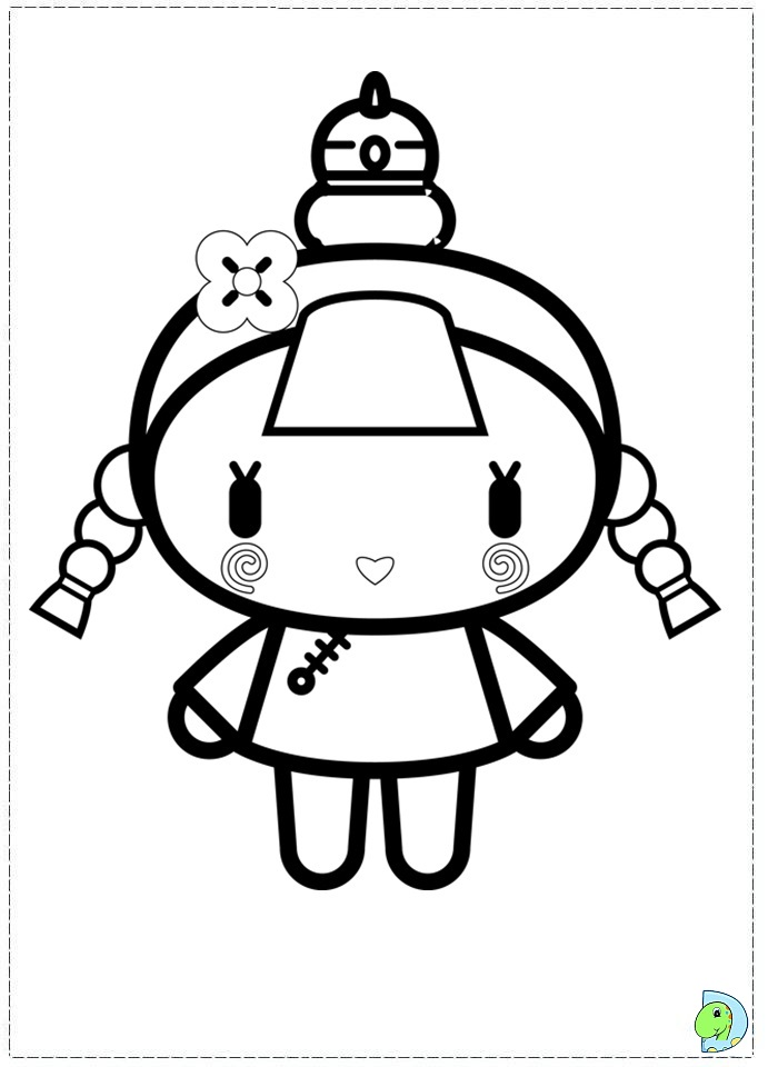 coloring pages of pucca - photo#11