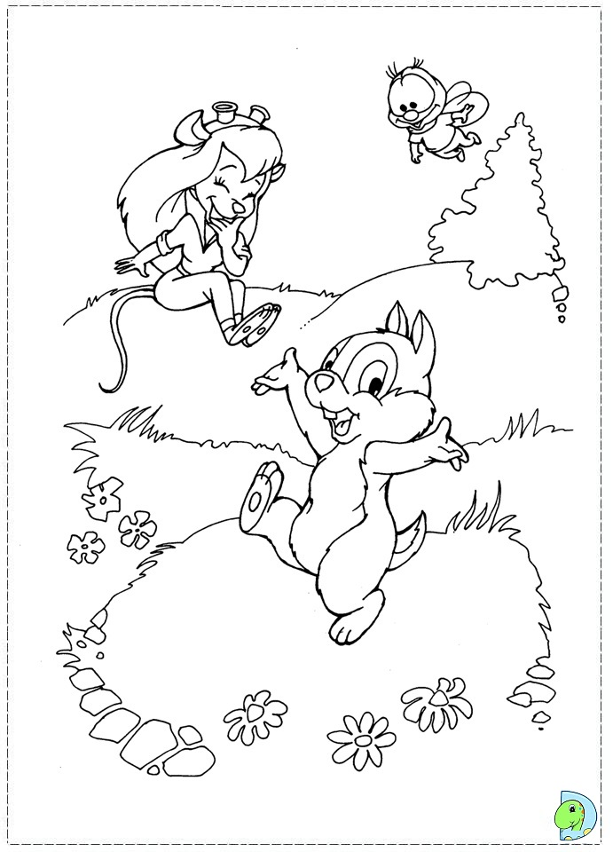 chip-dale-coloring3.gif (720×920) | Disney coloring pages, Cartoon ... | 960x691