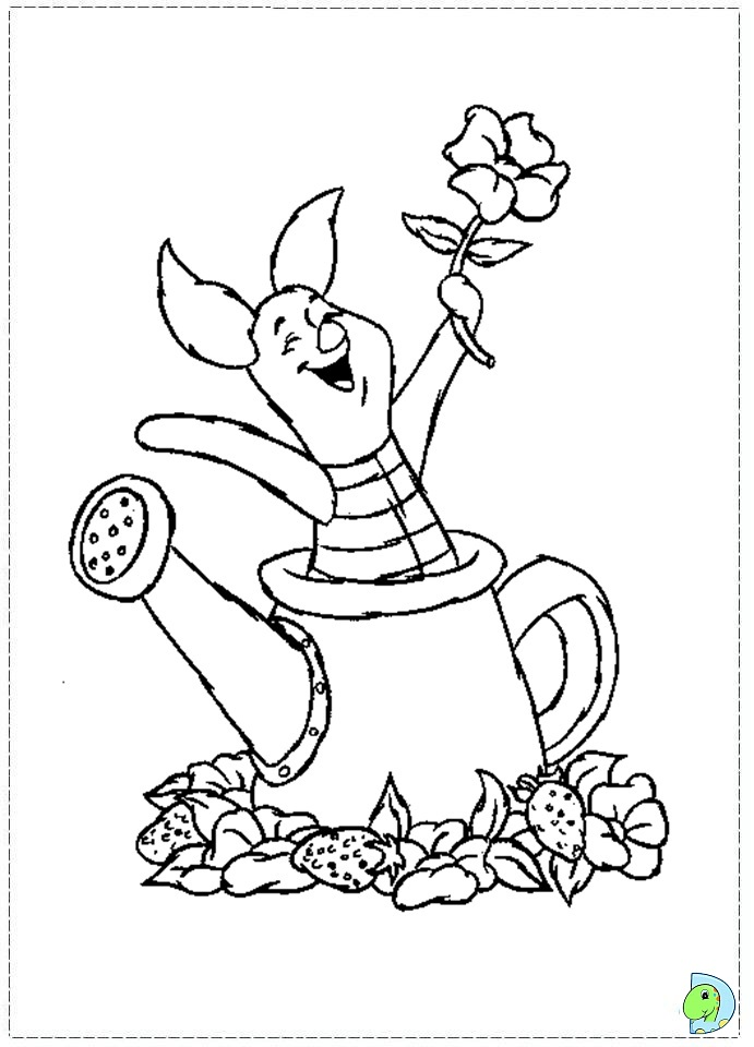 Disney Baby Piglet Coloring Pages
