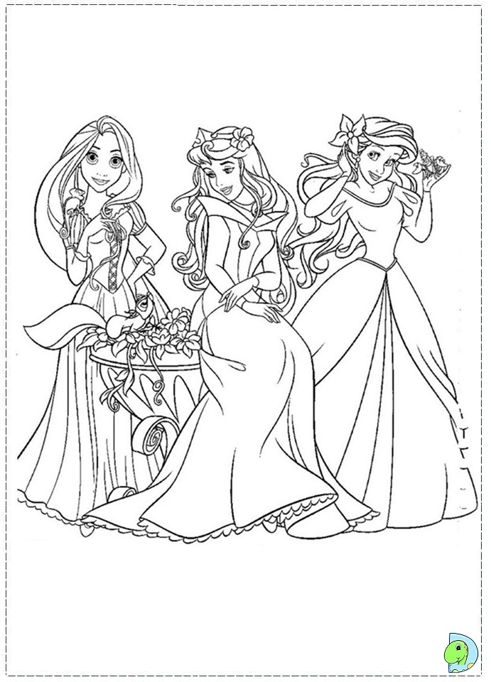 Princess  Free Coloring Pages  crayolacom