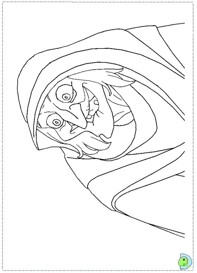 enchanted princess coloring pages - photo#21