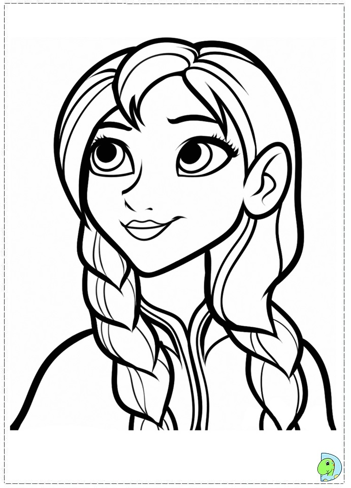 Coloring Pages Of Disney Frozen : Images about kids coloring pages on pinterest