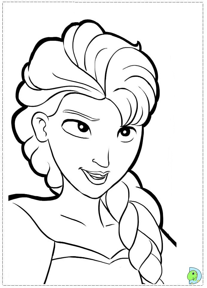Frozen Adult Colouring Pages