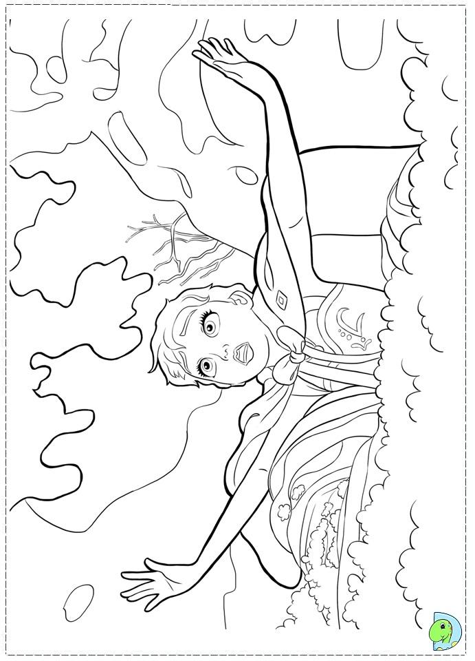 Valentine Coloring Pages Printable Disney Frozen Theme ...
