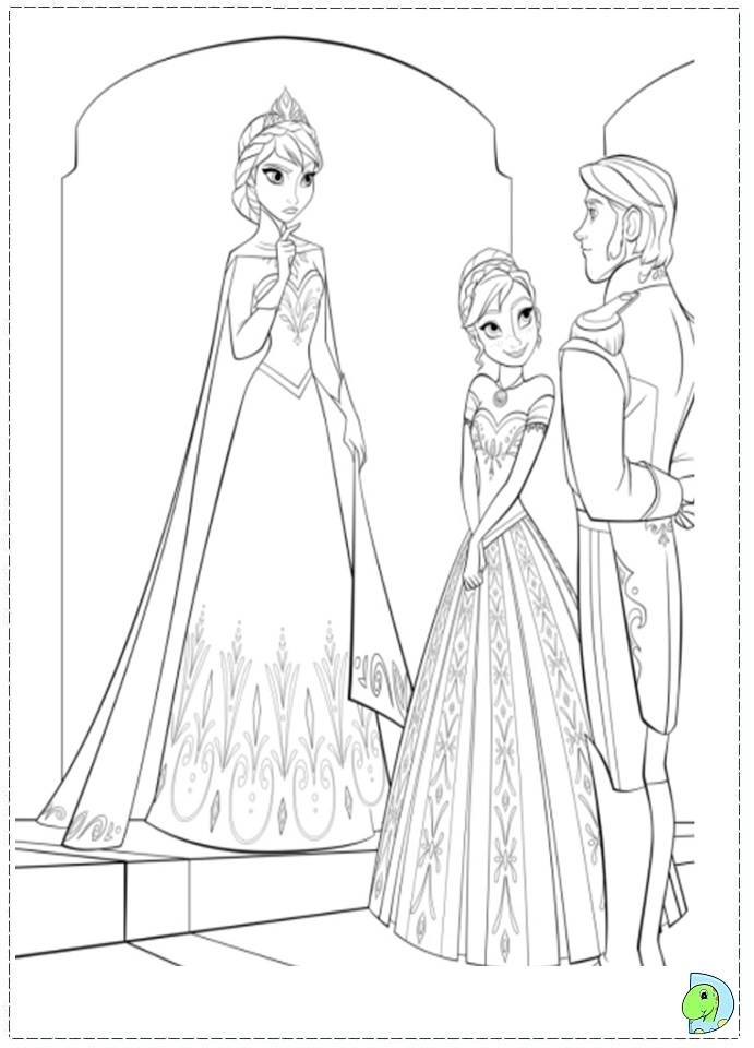 Colouring Pages Frozen Games : Frozen printable party games invitations ideas