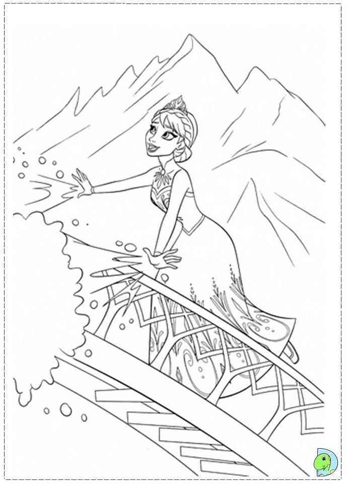 Frozen coloring pages Disney 39 s