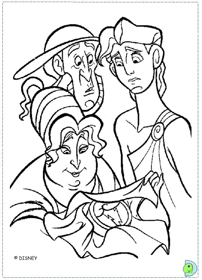 Hercules 12 Labors Coloring Pages Coloring Pages
