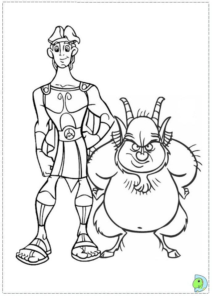 Images of Disney Hades Coloring Pages - #SpaceHero