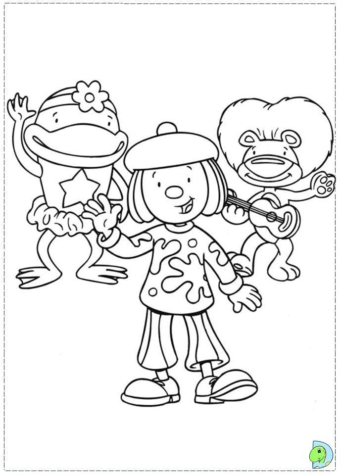 circus scene coloring pages - photo #41