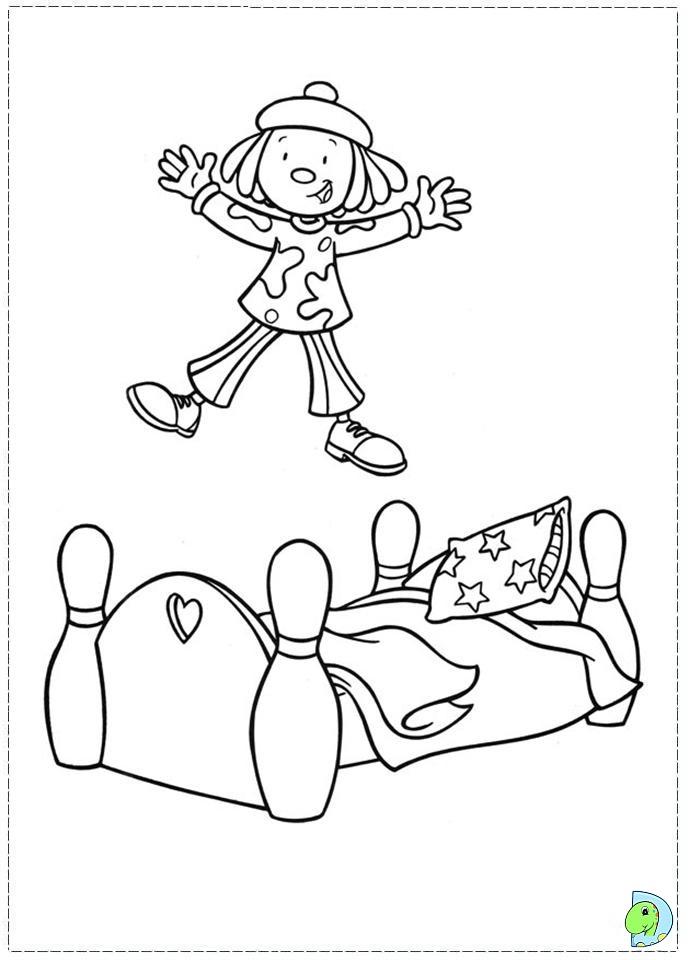 Jojo Circus Coloring Printable Pages