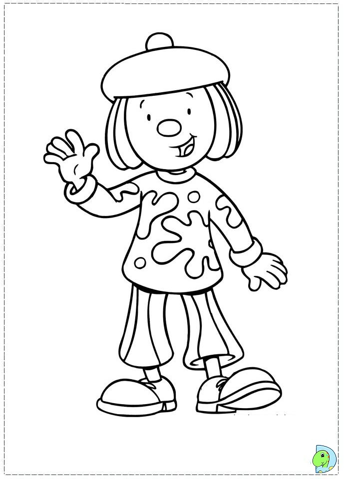 jojos circus coloring pages - photo#20
