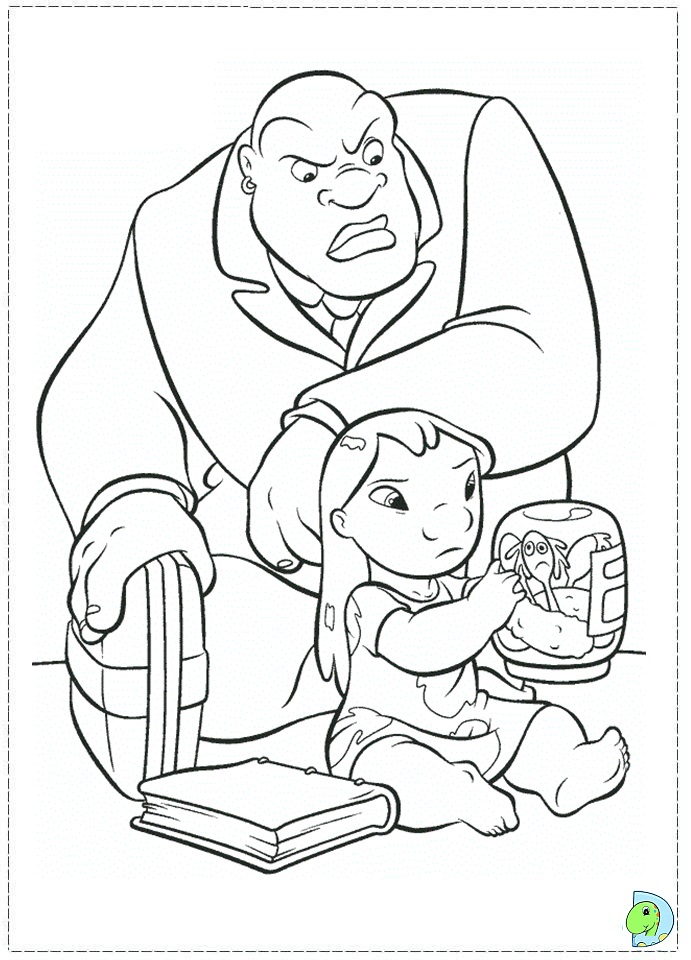 disney cuties coloring pages stitch coloring pages
