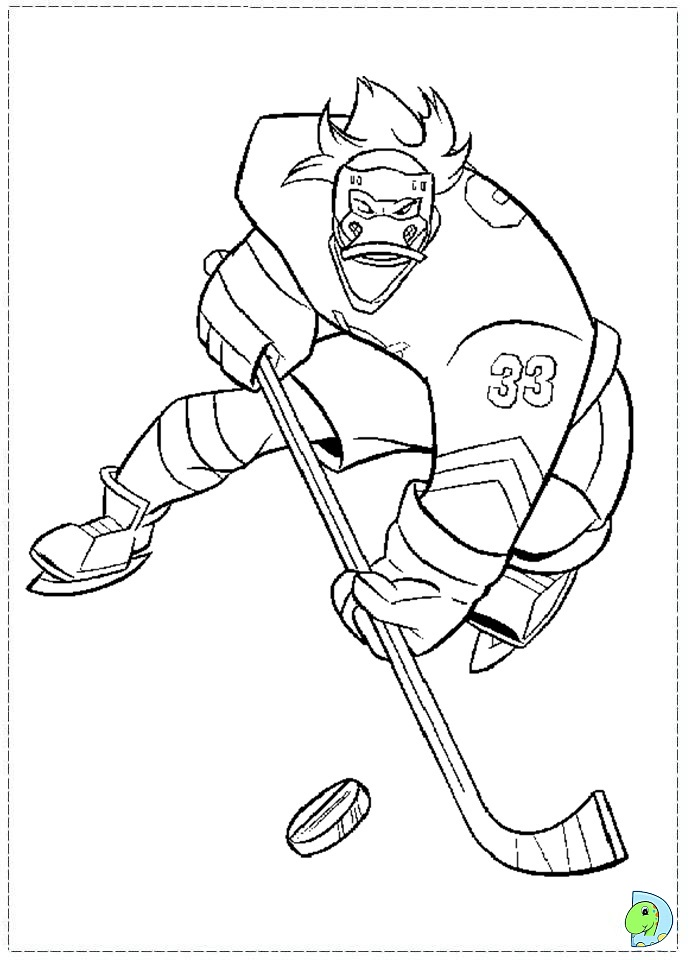 Free Coloring Pages Of Anaheim Ducks