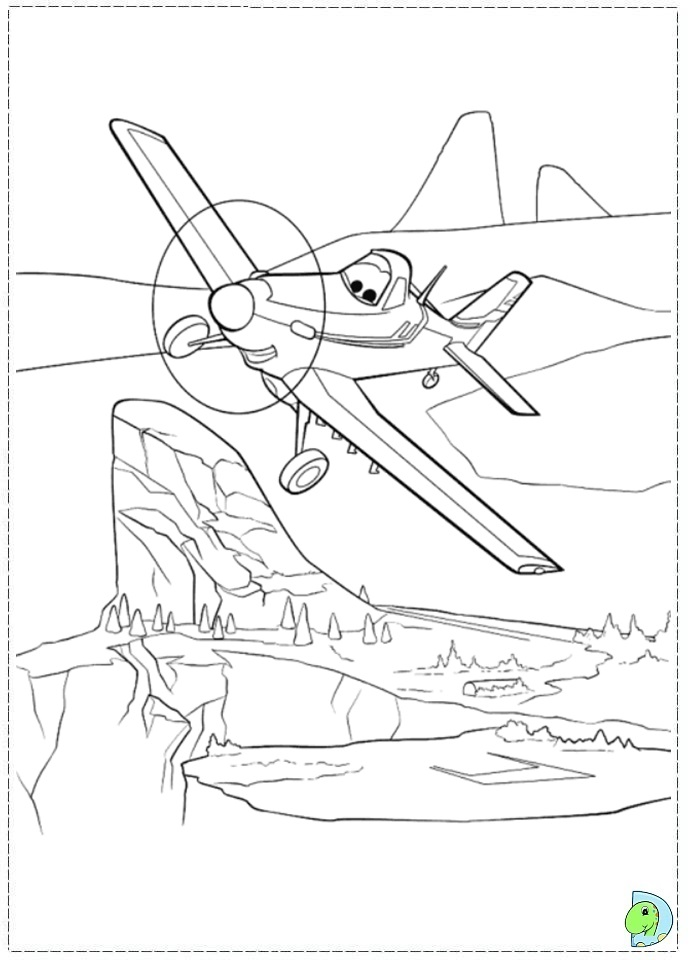 disney planes coloring pages skipper - photo#14