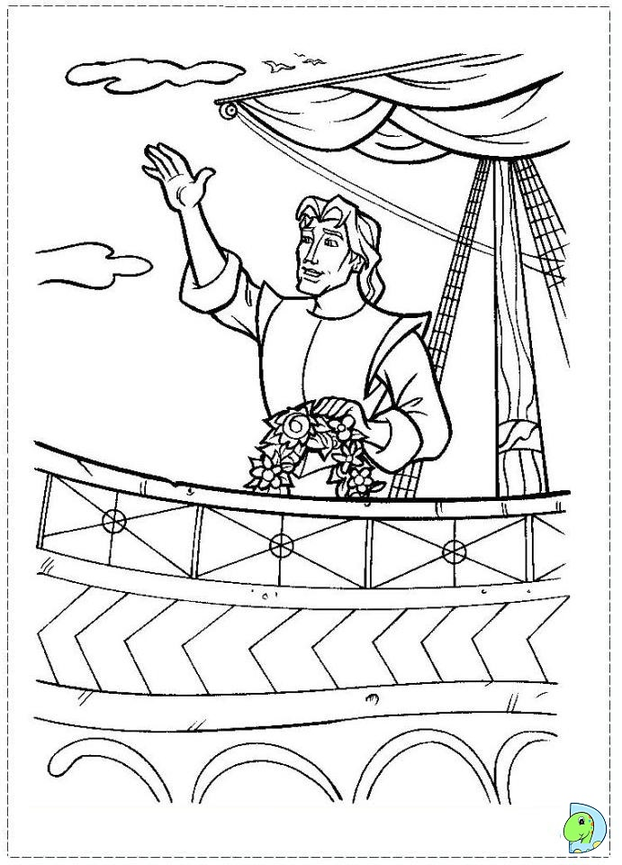pocahontas and meeko coloring pages - photo#29