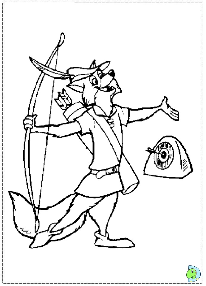 robin coloring page dinokids org